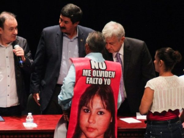 """""""I will Attend to the Problem of Violence in Mexico, Personally. Evil must be Fought with Good,"""" Andres Manuel Lopez Obrador."""