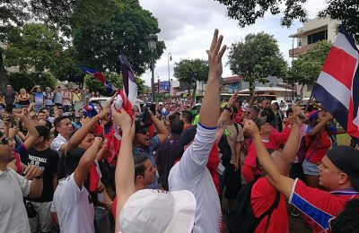Costa Rican Park is Closed Down as Rally Against Nicaraguans Turns Violent. 44 Detained. 30 Hurt.