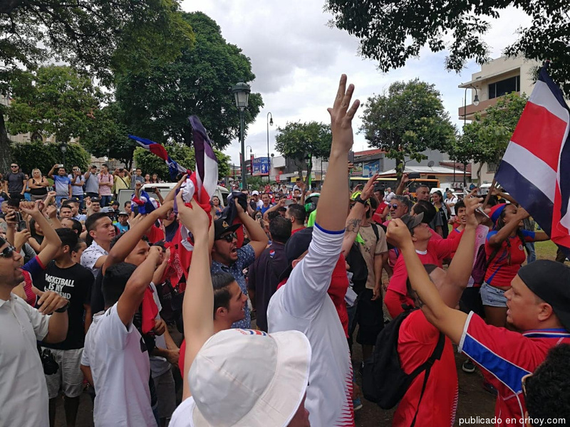 Costa Ricans Rally Against Nicaraguans