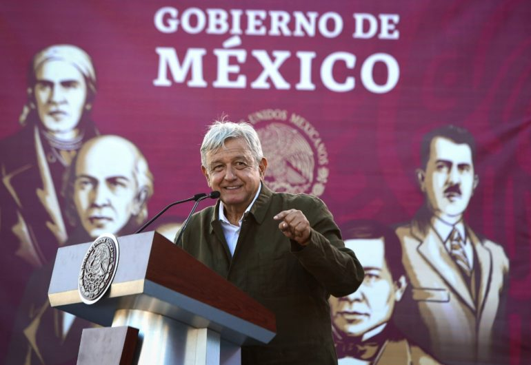 Speech by Andres Manuel Lopez Obrador