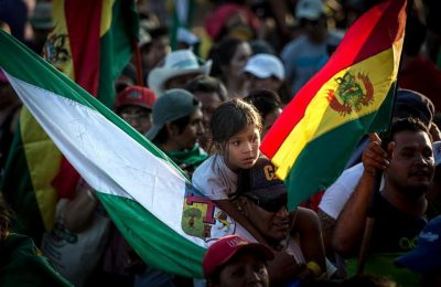 """We are a people freeing ourselves,"" Jhanisse Daza, Bolivian Human Rights Activist"