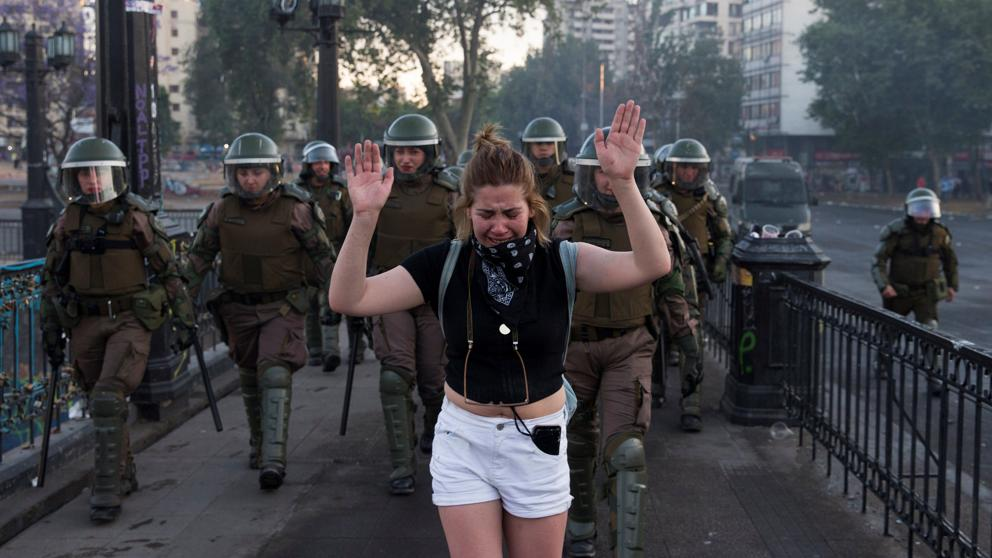 """""""This is the Largest Demonstration Ever in Chilean History,"""" states expert on Chile, Margaret Power"""