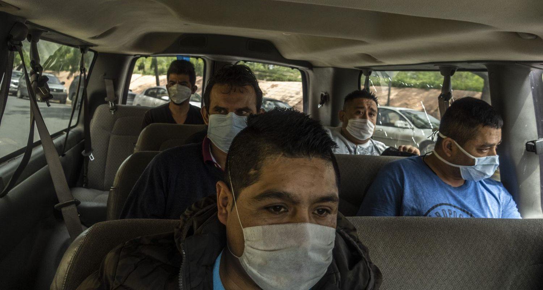 Transmigrants in Mexico Seeking Refuge