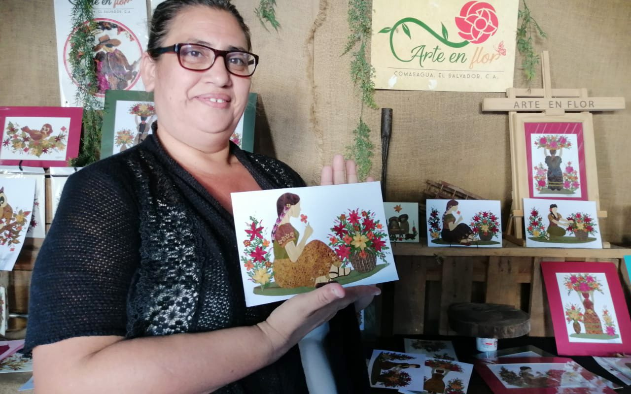 Art of the Flower in Comasagua