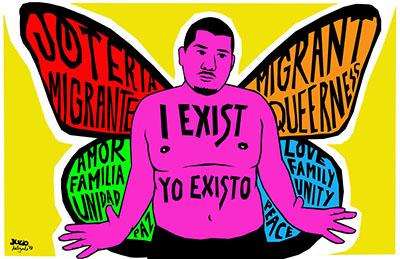 A Conversation with Julio Salgado: Undocu-Queer Artist & Activist