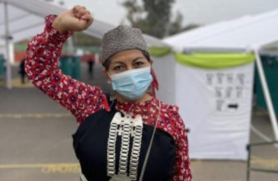 Elisa Loncón, Indigenous Mapuche Professor is President of the Constituent Convention of Chile