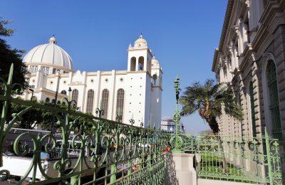 The National Palace of El Salvador